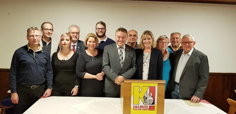 , Vorstandswahl und Nominierung der Stadtratskandidaten einstimmig